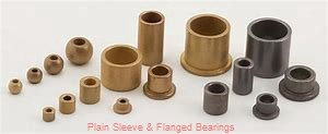 Bunting Bearings, LLC CB283444 Plain Sleeve & Flanged Bearings