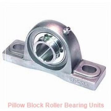 2.188 Inch | 55.575 Millimeter x 2.938 Inch | 74.625 Millimeter x 2.5 Inch | 63.5 Millimeter  Dodge P4B-S2-203L Pillow Block Roller Bearing Units