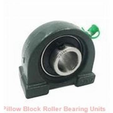 2.4375 in x 8-1/4 in x 5.53 in  Dodge P2BHC207 Pillow Block Roller Bearing Units