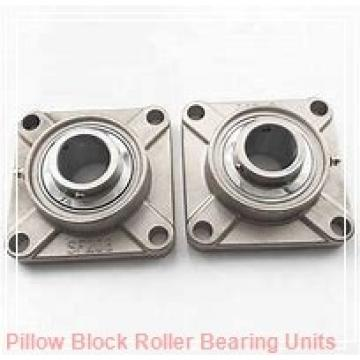 4.331 Inch | 110 Millimeter x 6.752 Inch | 171.5 Millimeter x 4.75 Inch | 120.65 Millimeter  Dodge P4B-E-110MR Pillow Block Roller Bearing Units