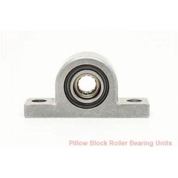 30 mm x 145 to 155 mm x 2-5/8 in  Dodge ISN 507-030MLR Pillow Block Roller Bearing Units