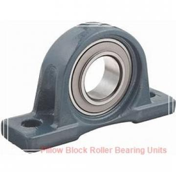 6.4375 in x 21 to 23.63 in x 10-1/2 in  Dodge P4BTFXT607RE Pillow Block Roller Bearing Units