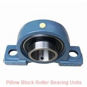 6.5 Inch | 165.1 Millimeter x 10.406 Inch | 264.312 Millimeter x 7.5 Inch | 190.5 Millimeter  Dodge P4B536-USAF-608TT Pillow Block Roller Bearing Units