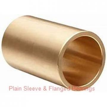 Bunting Bearings, LLC AA0417 Plain Sleeve & Flanged Bearings