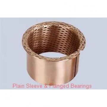 Bunting Bearings, LLC AA061801 Plain Sleeve & Flanged Bearings