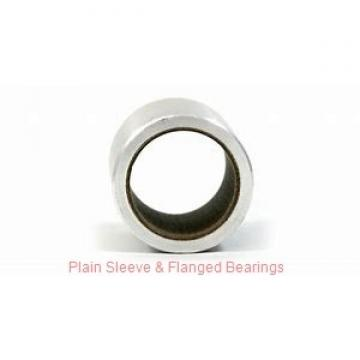 Bunting Bearings, LLC AA0863 Plain Sleeve & Flanged Bearings