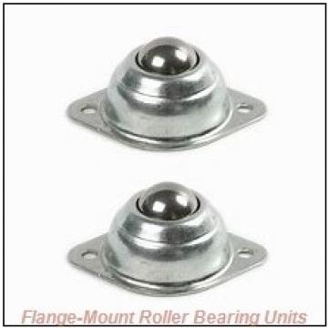 1-11/16 in x 5.0000 in x 8.5000 in  Cooper 01BCF111GR Flange-Mount Roller Bearing Units