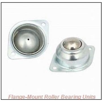 2-11/16 in x 6.7500 in x 8.6250 in  Cooper 01EBCDF211EXAT Flange-Mount Roller Bearing Units