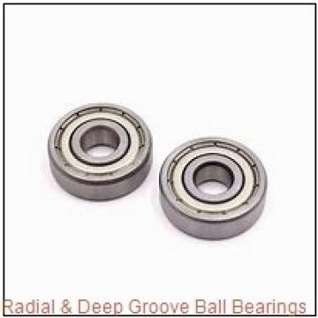 19.05 mm x 50,8 mm x 17,4625 mm  RHP MJ3/4-2RS Radial & Deep Groove Ball Bearings