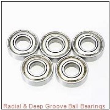 RHP LJ 1-5/8 Radial & Deep Groove Ball Bearings
