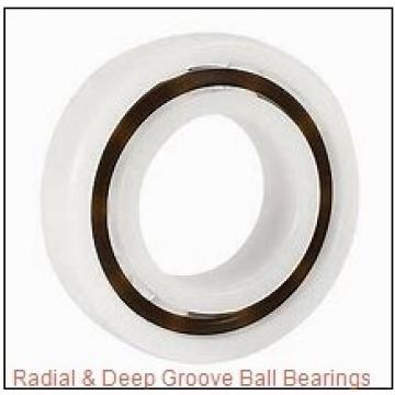 RHP MJ 1-2RS Radial & Deep Groove Ball Bearings