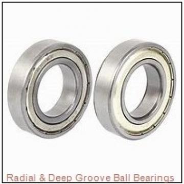 General 33207-01 Radial & Deep Groove Ball Bearings