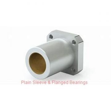 Bunting Bearings, LLC CB070914 Plain Sleeve & Flanged Bearings